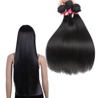 Wholesale best straight weave hair for sale - Group buy Best Quality A Unprocessed Peruvian Virgin Hair Straight Cheap Human Hair Weaves Brazilian Peruvian Straight Virgin Human Hair Extensions