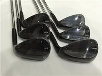 SM6 Wedge SM6 Golf Cuñas Jet BlACK Clubes de golf 50