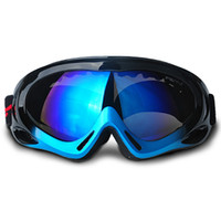 Wholesale Ski Kids Glasses - Wholesale- New brand Men ski goggles UV-cut anti-fog Women skiing glasses Eyewear Children kids snowboard goggles Multi-Color