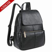 Plain Black Leather Backpack Bulk Prices | Affordable Plain Black ...