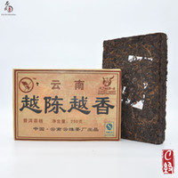 Wholesale Cha Wu C YueChenYueXiang Brick Puer Tea g Shu Pu erh Ancient Tree Yunnan Promotion Ripe Pu er Chinese Puer Long Time Better