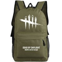 outdoor bowling games - Dead By Daylight backpack Steam game school bag Cool design daypack Laptop schoolbag Outdoor rucksack Sport day pack