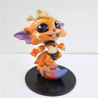 Wholesale Lol Miss - BONTOYSHOP Wholesale League Of Legends LOL Gnar The Missing Link Cosplay Doll #022 PVC 10 CM Actino Figure