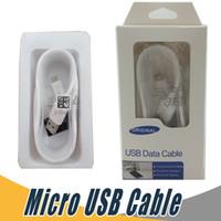 упаковка для мобильных зарядных устройств оптовых-Micro USB Кабель для Передачи Данных Android Зарядный Шнур Синхронизации Данных Зарядное Устройство Кабель-Адаптер Для Samsung LG Мобильный Телефон с Розничной Упаковке