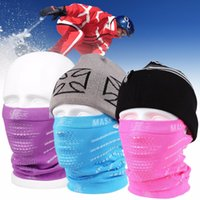 Wholesale Face Mask Purpose - Wholesale- New Multi-purpose Unisex Windproof Skiing Riding Mask Dustproof Warm Face Masks Outdoor Hiking Haze Prevention Face Cover