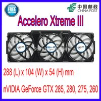 Al por mayor-ARCTIC Accelero Xtreme III VGA Cooler 3 Silencio 92mm PWM Ventiladores de repuesto nVidia AMD GTX 285, 280, 275, 260 Video Card Fan