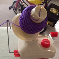 gros fils de fibres de laine achat en gros de-2017 Portable Swift Yarn Fiber String Ball Wool Winder Holder Winder Fiber à la main Nouvelle machine à enroulement de câbles Vente en gros