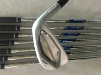 Wholesale Irons Golf Cover - JPX900 Iron Set JPX900 Golf Forged Irons High Quality New Golf Clubs 4-9PGw Steel Shaft With Head Cover