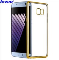 Wholesale Note Mirror Case - Galaxy note 7 Phone Case Daquan Samsung 5 4 3 plating mirror phone case J7 protective shell