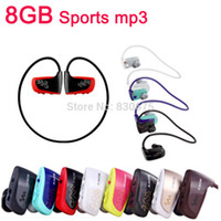 Wholesale High Quality Mp3 Player - Wholesale- Hot High quality 8GB Sport MP3 player W262 Stereo Headset MP3 headphone walkman mp3 player free shipping