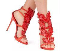 женские сексуальные кожаные босоножки оптовых-Сексуальная обувь женщина высокие каблуки сандалии шпильки 12 см каблуки женщины насосы партия свадебные туфли лакированная кожа Женская обувь