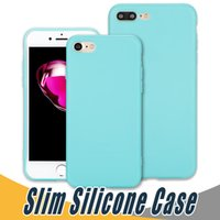Wholesale Iphone Case Water Color - For iPhone X Slim Silicone Case Soft TPU Case Cover Cady Color For iPhone 8 7 6 Plus 5