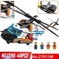 Wholesale Helicopters Rescue - City Heavy Rescue Helicopters--LEPIN BLOCKS LEPIN BRICKS 02068