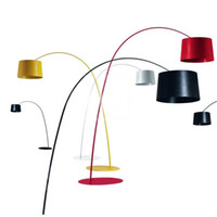 Wholesale Fabric Switches - Italy Foscarini Twiggy Terra Floor Lamp Marc Sadler Design Trendy Floor Lamp Indoor Lighting 3*E27 Bulbs 60W LED Energy Saving