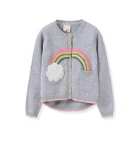 Wholesale The new spring and summer girls cotton sweater cardigan