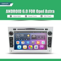 Wholesale Gps For Astra - Android 6.0 Quad Core Car DVD Player Stereo GPS bluetooth Radio Wifi For Opel CORSA ASTRA ZAFIRA VECTRA ANTARA MERIVA EW870P6QH