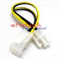 Wholesale led motherboard resale online - by dhl or ems Pin ATX Power Motherboard Extension Cord HDD Adapter Cable Lead Wire For PC