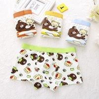 Wholesale Supplier Underwear - Boys Boxer Cotton Kids Underwear Boxers Cartoon High Quality Soft Baby Underpants Children Shorts Factory Supplier