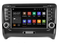 Wholesale Double Din Car Radio Rds - 7'' Double Din Special Touch Screen Car Radio with DVD GPS EX TV Bluetooth Radio RDS 3G for AUDI TT(2006-2013)