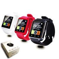 janelas huawei inteligentes venda por atacado-Original novo u8 bluetooth smart watch relógio de pulso u relógio para ios iphone samsung sony huawei android telefones nota xiaomi