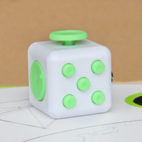 Wholesale Cheap Quality Toys - 2017 new Fidget cube world's first American decompression anxiety Toys 11color with Retail Box good quality cheap price DHL shipping