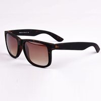Man black framed glasses - New colors new arrival justic sunglasses men ewomen brand dsigner sun glasses