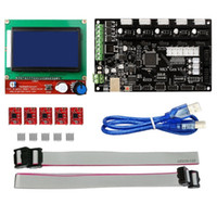 Wholesale 5pcs A4988 - Freeshipping MKS Gen V1.4 3D printer kit with MKS Gen V1.4 RepRap board + 5PCS A4988 Driver + 12864 Graphic LCD