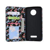 Wholesale Wholesale Xperia Play - For Sony Xperia Z3 Z4 Z5 Mini Compact E5 C6 Motorola Moto G4 X4 Play Plus Flip Folio Kickstand PU Leather Wallet Case Card Slots Back Cover
