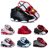 Wholesale China Shoes Shipping - [With Box]2016 New Air Retro 13S China mens basketball shoes top quality outdoor sports shoes for men many colors US 8-13 Free Drop Shipping