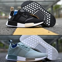 Wholesale Youth Skis - 2017 12 colors NMD XR1 Runner R2 BOOST NMD_R1 Fall Olive green Sneakers Women Men Youth Running Shoes size 36-45