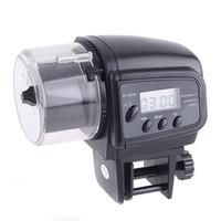 alimentador automático de acuario al por mayor-Venta caliente Digital LCD Automático Acuario Tanque Auto Fish Feeder Timer Alimentación Alimentaria