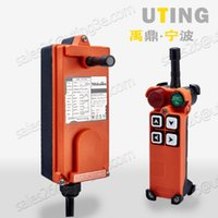 Wholesale industrial cranes online - Telecontrol F21 S industrial radio remote control AC DC universal wireless control for crane transmitter and receiver