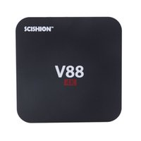 Wholesale Free Online Movies - V88 Android TV Box Rockchip RK3229 1GB 8GB Smart Boxes 4K Quad core 16.1version Full Loaded support 3D Free Movies Online PC DHL 0803093