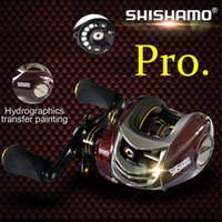 Wholesale Hand Cast - Shishamo BC150 18 Ball Bearings Baitcasting Reels Right Left Hand Metal Fishing Bait Casting Reel with One Way Clutch +B