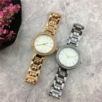 Wholesale Shining Crystal Bracelet Watch - Top Brand COK Lady watch Rose Gold Steel Bracelet Chain Shine Diamonds Women watch Small eyes Crystal Jewelry buckle Sexy free shipping