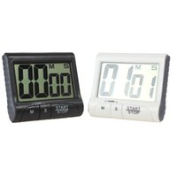 Wholesale Digital Count Up Down Timer - Magnetic Large LCD Screen Digital Kitchen Timer Alarm Count Up   Down LIF_501