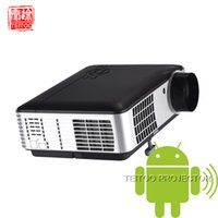 Wholesale Projectors Suppliers - Wholesale- 3000Lumens Android 4.2 Built-in Digital Home Cinema LED Projectors Review,Office Equipment,Project Professional Supplier
