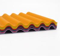 черные круглые губки оптовых-Волнистые квадратные силиконовые салфетки западные подушки противоскользящие есть коврик тепловой коврик настольный коврик прихватка