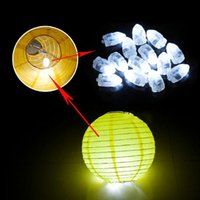 Wholesale Floral Paper Lantern - 100pcs LED Balloon Light Floral Light Balloon Lamp for Paper Lantern Wedding Birthday Party Decoration LED String Light for Home Decoration