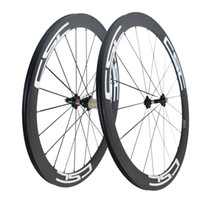 Wholesale wheels carbon clincher - CSC Carbon Road Bike wheels 50mm Clincher wheelset Novatec hub with CN spokes Basalt Brake Surface Carbon road bicycle bike wheels