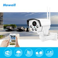 Wholesale Ip Optical - Howell Wireless IP Bullet Security CCTV Camera HD 960P 4X Optical Zoom Surveillance Wifi CCTV Camera IP65 Waterproof Outdoor PTZ Camara