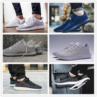 Wholesale Art Cardboard - Hot Sale 2017 Mens Womens Originals Tubular Shadow Knit Core Black White Cardboard Sneakers Running Shoes 350 boost 3D Sneakers US 5-10