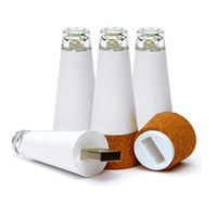 Wholesale marketing sets - Wholesale-Set of 4 Premium Bottle Lights Brightest Wine Cork USB Light on the Market The Perfect Gift for the Wine Lover in Your Life