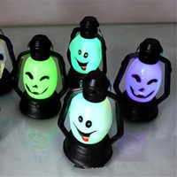 Wholesale small fairy toys for sale - New Arrival Halloween Light LED Lantern Novelties Symphony Small Lantern Flash Small Lamp LED Fairy Lights Skull Light Toys Novelty Lighting