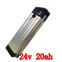 Wholesale Ebike 24v - Electric Bike Battery 24V 20Ah 500W ebike Battery 24v Lithium Battery Pack 24V with 29.4V 2A Charger,15A BMS Free Shipping