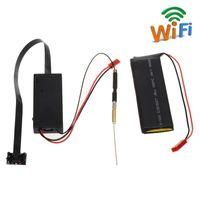 Wholesale Ipad Wifi Module - HD 1080P 5MP Spy WIFI Camera Module Hidden Cam Mini DVR Security Camcorder P2P Video Recorder With Super Night Vision LED For Phone PC Ipad