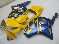 Wholesale Cbr 954 Yellow Fairings - New bike body ABS fairings kit For Honda CBR900RR 954 2002 2003 CBR 954RR CBR954 RR CBR900 CBR954RR yellow blue