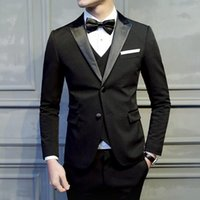Wholesale Men Dress Wedding Suits - 20144 suit men in the summer of cultivate one's morality dress professional suit the groom's best man wedding dress
