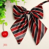 Wholesale Ladies Ascot Tie - New Collar Flower Bows Ties Fashion Butterfly Elegent Uniform Dress Female Neck tie Lady Ascot Stewardess Neck Wear Women's Ribbon Cravat