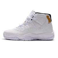 Wholesale Owl Totem - Free Shipping Air Retro 11 White Black Cat Owl Basketball Shoes Mens 11s Black Cat Sports Sneakers Size 7- 13 With Shoes Box